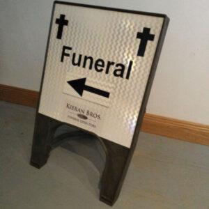 rectangular sign