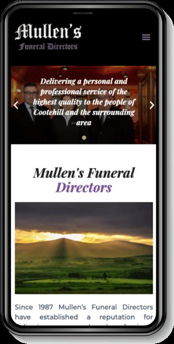 mullens funeral mobile